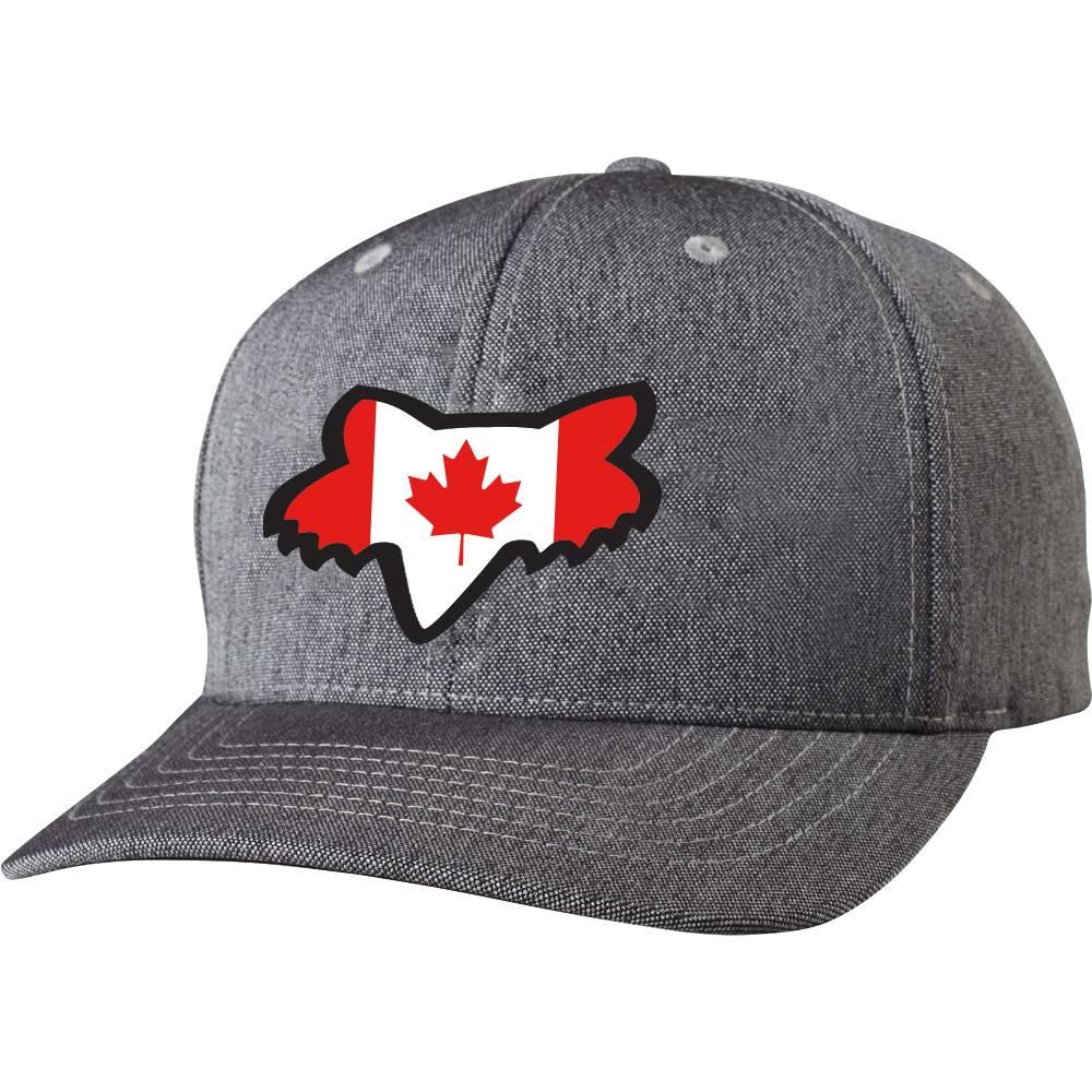 Fox Head Canada Flag Fill Hat