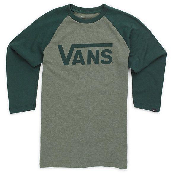 Vans Boys Classic Raglan Tee