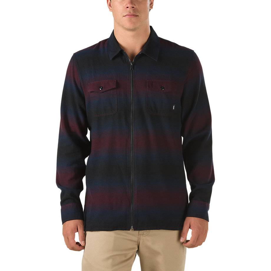 Vans Brewster Zip Flannel Shirt