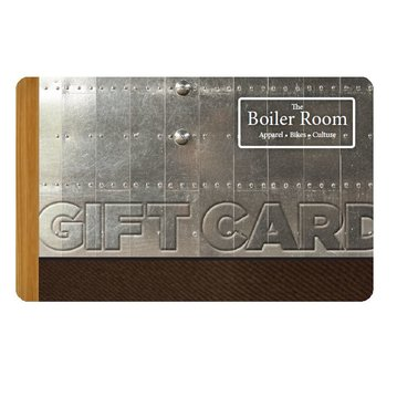 The Boiler Room Gift Card