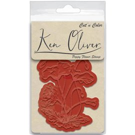 Ken Oliver/Contact USA Poppy Flower Stamp