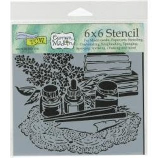 The Crafter's Workshop Stencils 6""