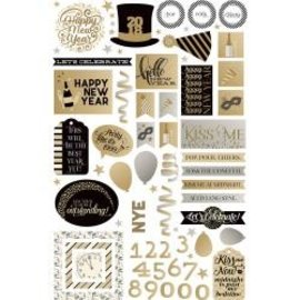 Photo Play Paper Happy New Year Die Cuts
