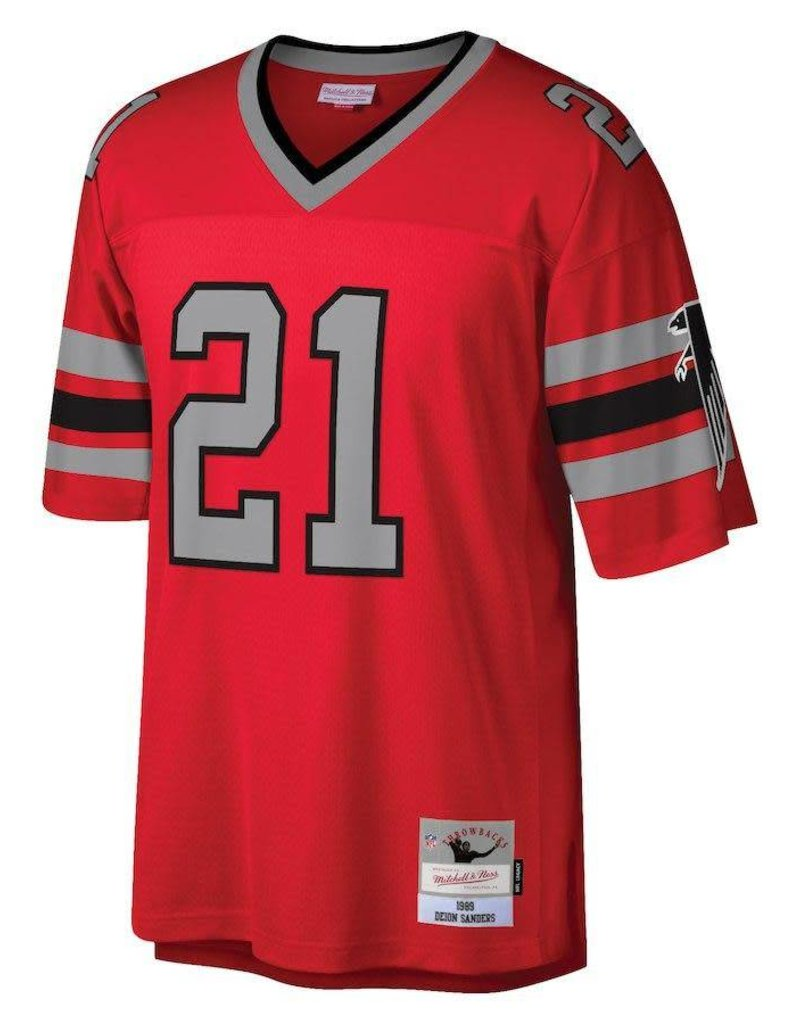 best loved e184c 76812 MITCHELL & NESS Deion Sanders Falcons Jersey