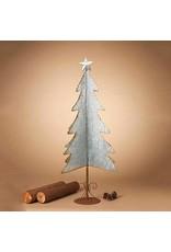 "43.3""H Galvanized Corrugated Tree"
