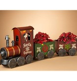 "56.5""L B/O Metal Holiday Train-Santa Express"