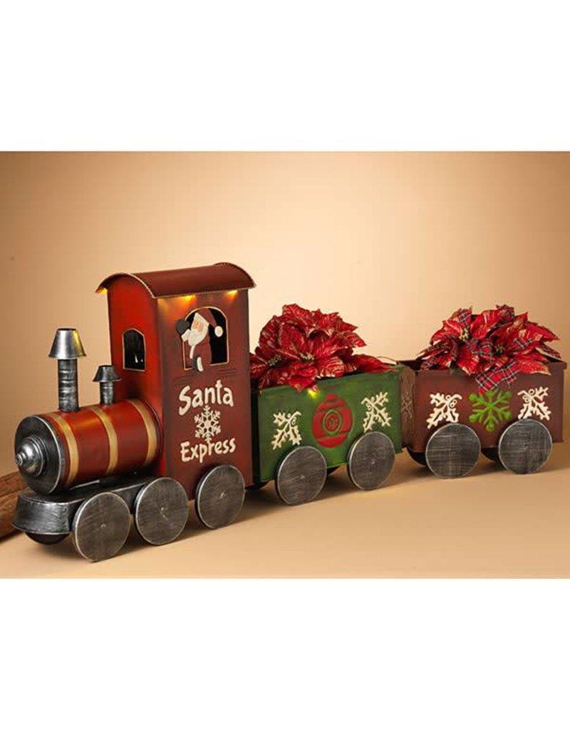"""56.5""""L B/O Metal Holiday Train-Santa Express"""