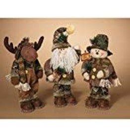 "18"" Plush Holiday Camouflage--choice of one"