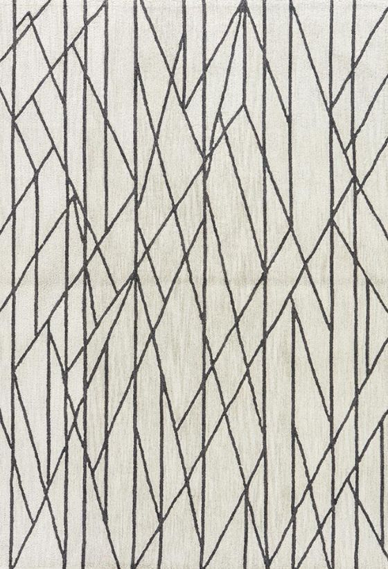 """Stela Area Rug-Feather Gray & Agate Gray-  7'6"""" x 9'6"""""""""""