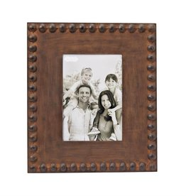 Large Nailhead Tin Picture Frame