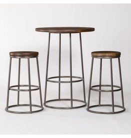 Loft Pub Table and 2 Loft Bar Stools