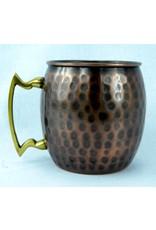 Antique Hammered Finished Mug