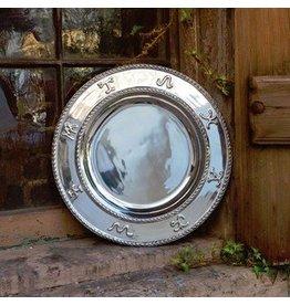 Western Misiones Brand Round Platter
