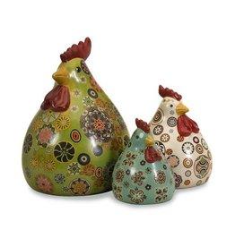 Canvon Chickens - Set of 3