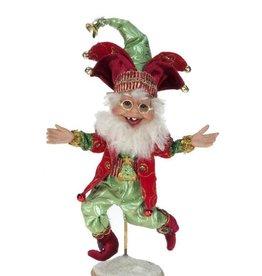 "9 Ladies Dancing Elf, Sm 9.5"""