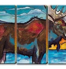 3 Aluminum Panel Moose