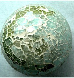 Mosaic Glass Decorative Ball Decor