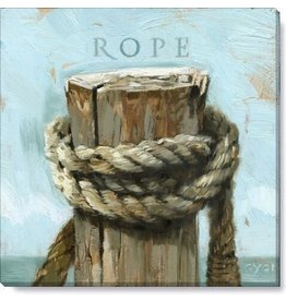 14x14 Inch Gallery-Wrapped Rope