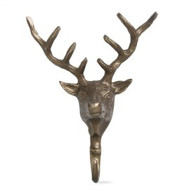 Deer Cast Metal Wall Hook
