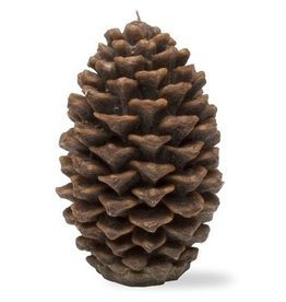 Large Pinecone Candle