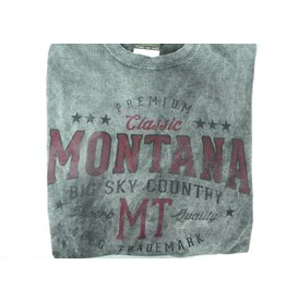 "Men's Starsky Oval ""Montana Big Sky Country"" Charcoal- 2XLarge"