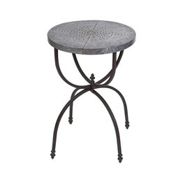 Gilbert Galvanzied Occasional Table