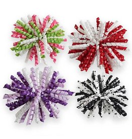 Assorted Corker Flower Hair Clips
