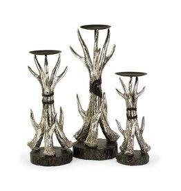 Antler Candleholders - Set of 3
