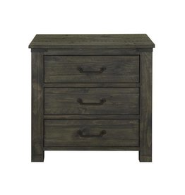 Wood Drawer Nightstand