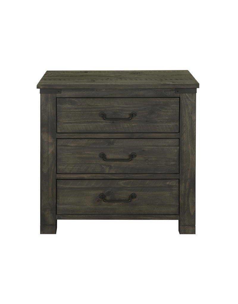 Wood Drawer Nightstand