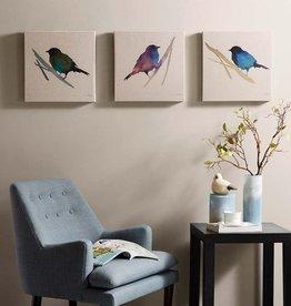 Branch & Flight Linen Canvas 3 Piece Set