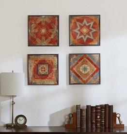 Moroccan Tile Gel Coat Deco Box 4pcs Set