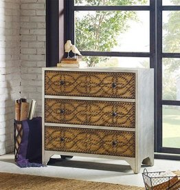 Tabor Interlocking Nailhead Chest