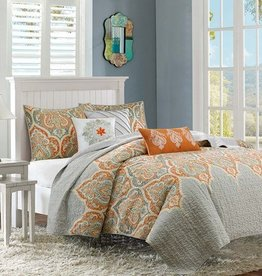 Nisha Quilted Coverlet Set