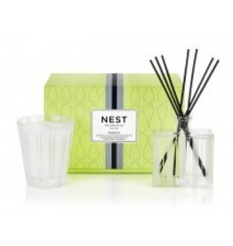 Bamboo Classic Candle & Diffuser Set