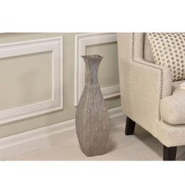 Iron Flower Vase Antique