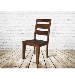 Mendocino Wooden Dining Chair in Dark Chestnut