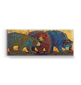 """Sting"" 3 Bears w/ Bees Metal Box Art"