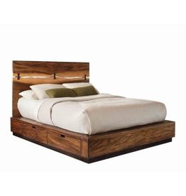 Coaster Madden King Bed--Smokey Walnut
