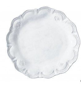 Incanto White Lace Dinner Plate
