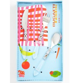Clear Child Flatware Set-3pc