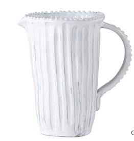 Incanto White Stripe Pitcher