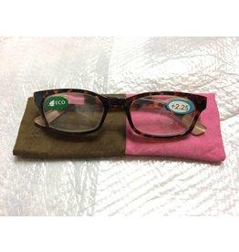 Classic Rect Color Block Tort/Pink/Camel 2.25