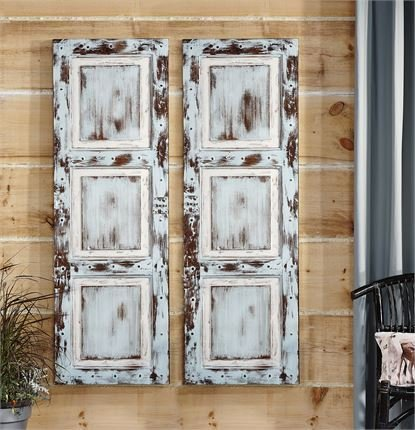Door Panel Acrylic Paint Canvas Wall Decor