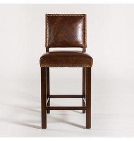 Weston Barstool in Antique Saddle Leather