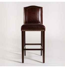 Cloister Counter Stool-Leather