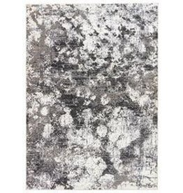 Masonic Cloudburst Area Rug Black/Grey/White