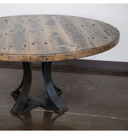 """Rhone Dining Table-50""""D x 30""""H"""
