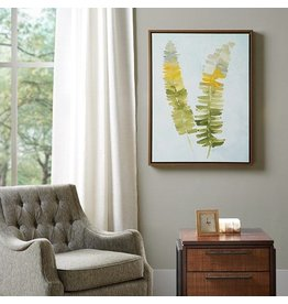 Stunning Fern Heavy Roll Gel Coat Canvas with Frame
