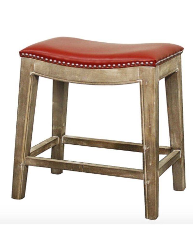 Red Counter Stool Beckman S